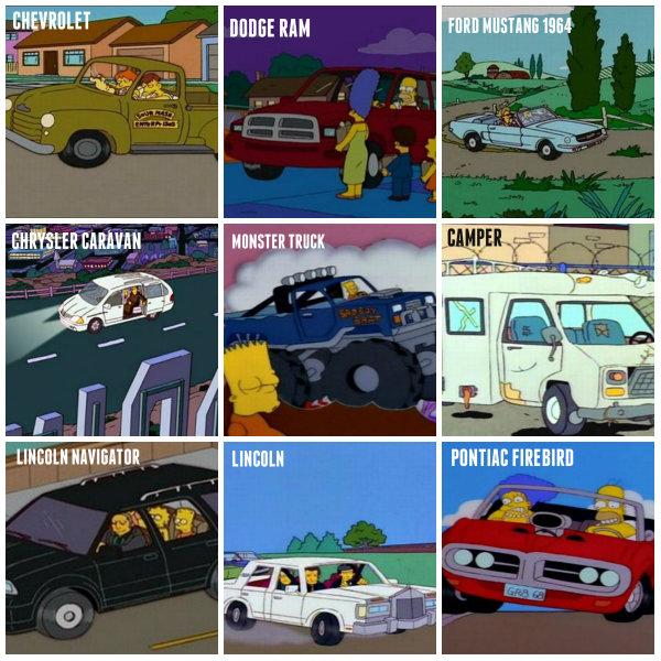 Los Autos De Los Simpsons Taringa