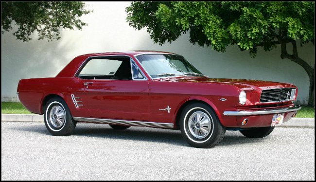 Ford Mustang Primera Generaci 243 N 1964 A 1966 Fierros Clasicos