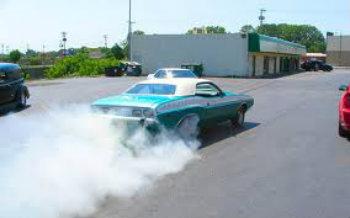 humo de los carros: