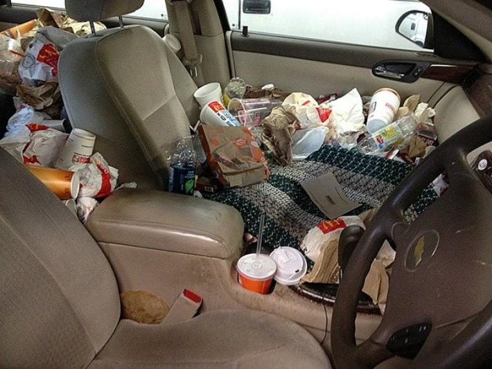 Consejos para limpiar los tapizados fierros clasicos - Limpiar el interior del coche ...