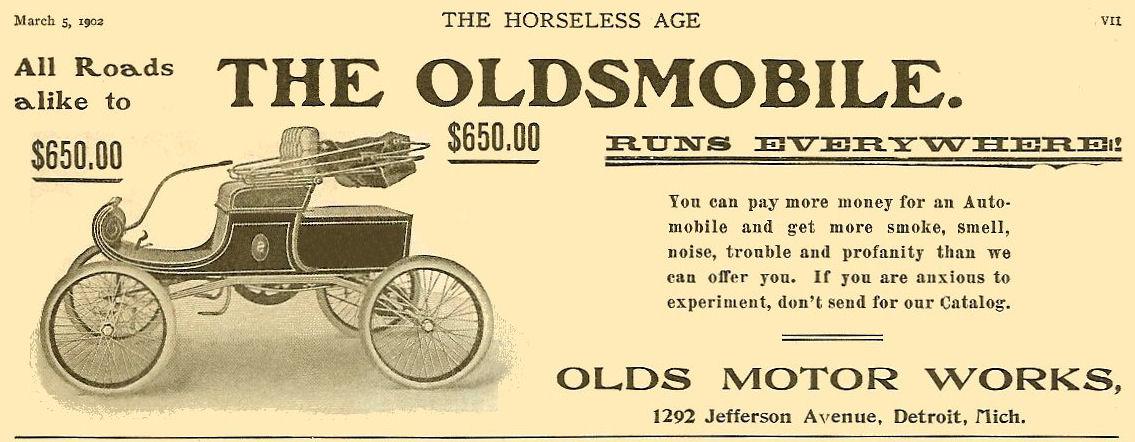 1 oldsmobile