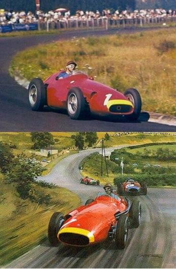 2 FANGIO ULTIMO TRIUNFO 1957