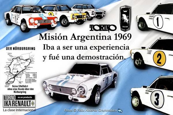 3 TORINOS NURBURGRIN 1969