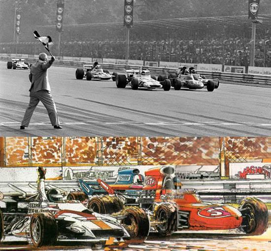1 diferencia minima f1 1971
