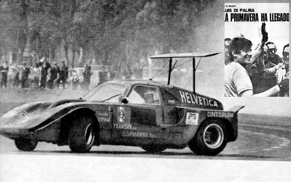 3 RUBEN LUIS DI PALMA SPORT PROTOTIPOS MAGGIOLO 1969