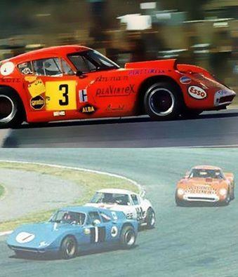 3 pairetti trueno naranja 1968