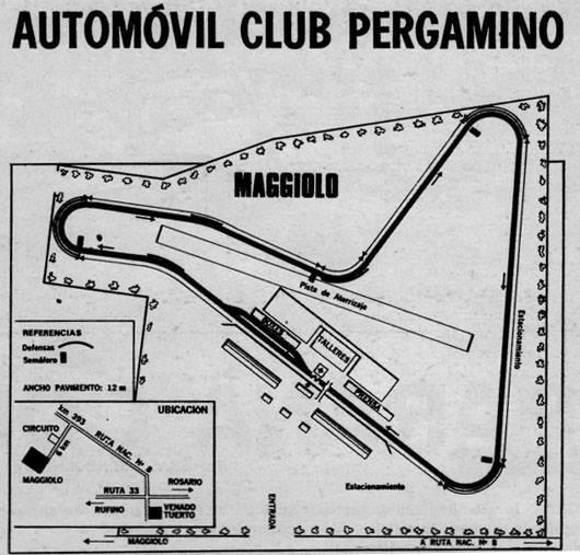 6 AUTODROMO MAGGIOLO 1969
