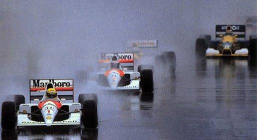 4 SENNA AUSTRALIA 1991