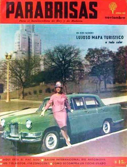 5 PARABRISAS APARECE 1960