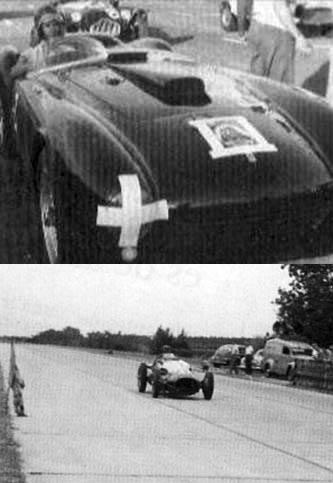 1 competencia de velocidad 1955