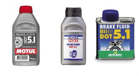 Mezclar liquido de frenos con aceite